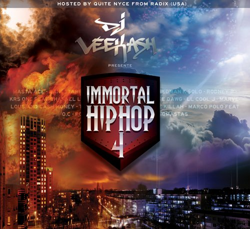Immortal Hip hop 4 cover maxi